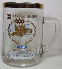 Vtg 1967 MFA OIL COMPANY FARMERS COOP ADVERTISING MUG COLUMBIA MO PETROLIANA