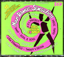 MAXI DANCE SENSATION - 16 DANCE HITS MAXI VERSIONS - 2 CD COMPILATION [135]
