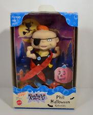 "1998 Halloween Pirate Phil 4.5"" Mattel PVC & Plush Action Figure Doll Rugrats"