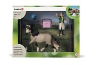 Schleich 42366 Horse Care GROOMING Set NEW RETIRED
