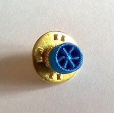 Rosette pin's Neuve d'officier de l'Ordre National du Mérite, diamètre: 6 mm.