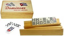 Cuban Dominoes Game Doble Nine , Domino Cubano With 4 Holders Free