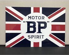 BP MOTOR Spirit Racing Vintage Reproduction Garage Sign