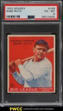 1933 Goudey Babe Ruth #149 PSA 6 EXMT