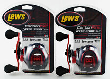 (Lot Of 2) Lew'S Carbon Fire Speed Spool Slp Cf1Shlac 7.5:1 Lh Baitcast Reel Cp