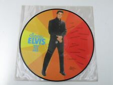 ELVIS PRESLEY - PICTURES ELVIS III - LP PICTURE DISC 1986 All Round Trading EX
