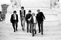 OLD MUSIC PHOTO Group Portrait Of English Group The Beat Merchants 3