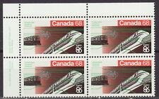 CANADA #1093 68¢ Expo 86 UL Inscription Block MNH