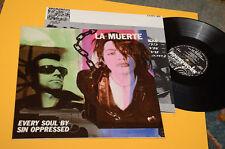 LA MUERTE LP EVERY SOUL BY SIN OPPRESSED ORIG BELGIIO EX