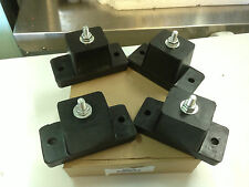 AIR CONDITIONER MOUNT BRACKET SET OF 4   CAN STANDS 280KG RUBBER FEET STANDS