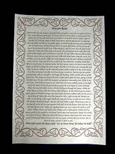 WICCAN REDE FULL VERSION  wicca pagan witchcraft A4 Poster