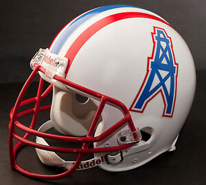 EARL CAMPBELL Edition HOUSTON OILERS Riddell REPLICA Football Helmet