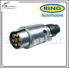 Ring Anhängerkupplung Abschlepp Anhänger 7 Stecker Metall 12N Stecker A0006