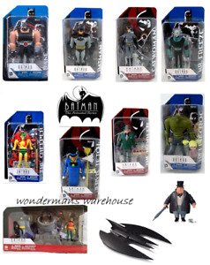 Batman The Animated Series/New Adventures Continue - Action Figures- DC Comics