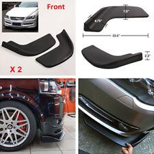 2x Universal Auto Front Shovel Car SUV Racing Bumper Splitter Spoiler Protector