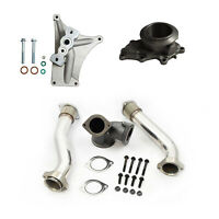 Rudys EBPV Delete Pedestal Exhaust Housing Up Pipes For 99.5-03 Ford Powerstroke