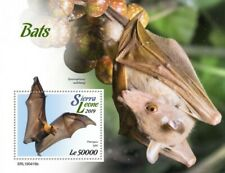 Sierra Leone - 2019 Bats on Stamps - Stamp Souvenir Sheet - SRL190416b