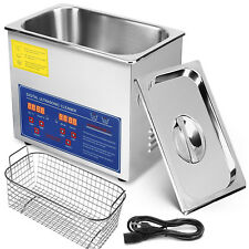 New 3L Liter Industry Ultrasonic Cleaners Cleaning Equipment 220W w/Timer