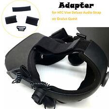 3D Druck Kunststoff Adapter für HTC Vive Deluxe Audio Strap auf Oculus Quest