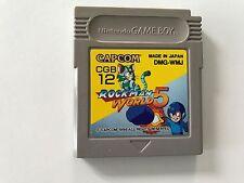 Nintendo Gameboy Game Boy Spiel Mega Man V 5 // Guter Zustand //   #18