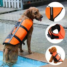 NEW DOG LIFE JACKET BUOYANCY AID PET SWIMMING REFLECTIVE SAFETY PETS VEST SUIT
