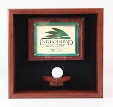 Golf Ball Scorecard Display Case #1730  --MADE IN WISCONSIN--
