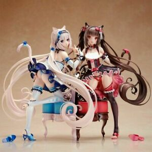 New Native Nekopara Chocola & Vanilla 1/7 Scale PVC Action Figure Toy