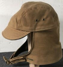 695c9592132 C.C. Filson Men s Wool Outdoor Hunting Cap Hat Shelter Hood Small