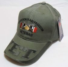 cca1a019df2 Operation Iraqi Freedom Officially Licensed ODG Military Hat Baseball Cap