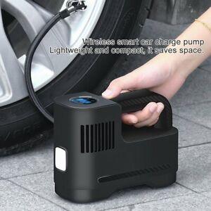 Schnurlos LCD Auto Reifen Luftpumpe Druckluft Fahrrad Kompressor 12V 100PSI Akku