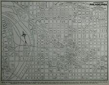 *Vintage 1939 World War WWII Atlas City Map Philadelphia, PA Penn Pennsylvania*
