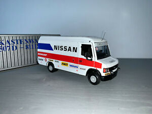 RALLY 1/43 CONRAD MERCEDES 508D ASSISTANCE SERVICE VAN NISSAN 240RS POND KABY