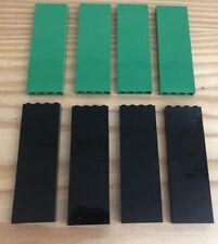 LEGO Bricks 1x4 Black Green Beam, Parts Pieces Army X 80 Bundle 3010