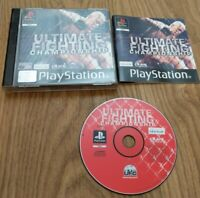 Ultimate Fighting Championship Song PlayStation 1 PS1 Game Complete with Manual