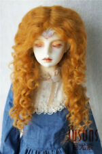 8-9inch Extremely Long Sauvage Mohair Doll Wigs 1/3 Curly BJD Doll Hair 4colors