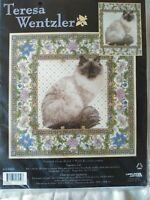 Teresa Wentzler, Tapestry Cat counted cross stitch kit Sealed