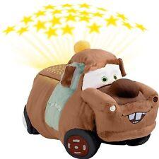 Disney Pixar Cars Pillow Pets - Dream Lites Tow Mater Stuffed Animal Night Li...