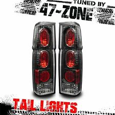 For Nissan Hardbody D21 Pick Up Altezza Black Housing Clear Lens Tail Light Pair