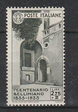 FRANCOBOLLI 1935 REGNO BELLINI L.2,75 MNH Z/3988