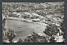 3031.-MALLORCA -Sóller, Vista parcial de la playa (1959)(REAL FOTO)