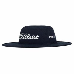 Titleist Tour Aussie Bucket Hat Wide Brim Sun Hat Golf Cap Unisex - Blue