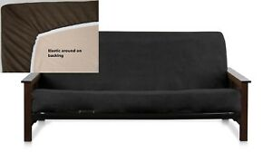 Bonded Micro Suede Easy Fit Fitted Futon  Sofa Daybed Covers More Size & Colors
