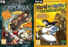 Edna and Harvey The Breakout Collectors Edition & Chaos of Deponia   new&sealed