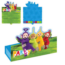 TELETUBBIES STAND-UP INVITATIONS (8) ~ BIrthday Party Supplies Stationery Cards