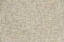 Discount Fabric Chenille Creme & Gray Mini Square Upholstery
