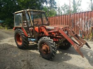 Zetor Tractor 6748 with loader