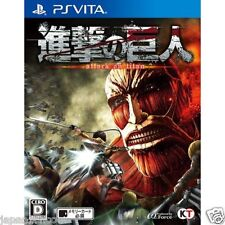 Used PS VITA Shingeki no ​kyojin TITAN SONY PLAYSTATION JAPANESE JAPONAIS IMPORT