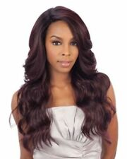 FREETRESS EQUAL DEEP INVISIBLE 'L' PART SYNTHETIC LACE FRONT WIG - DANITY