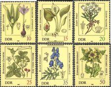 DDR (RDA) 2691-2696 (completa.edición) usado 1982 Plantas venenosas