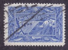 Canada 302 Used 1951 Fishing - Canada's Fish Resources Issue Very Fine
